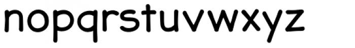 JollyGood Sans Basic Font LOWERCASE