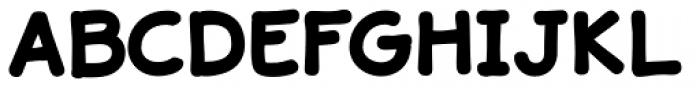 JollyGood Sans Black Font UPPERCASE