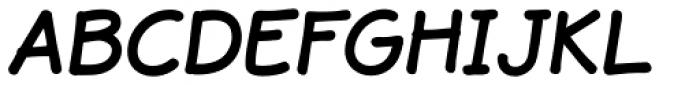 JollyGood Sans Bold Italic Font UPPERCASE