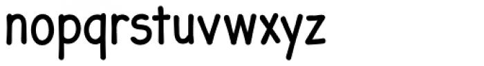 JollyGood Sans Condensed Regular Font LOWERCASE