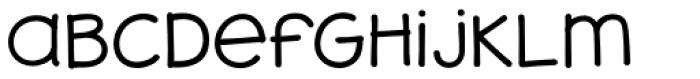 JollyGood Sans Unicase Light Font LOWERCASE