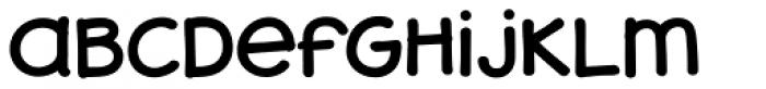 JollyGood Sans Unicase Regular Font LOWERCASE