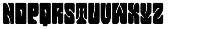 Jonah Black Font UPPERCASE