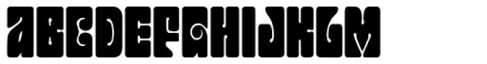 Jonah Black Font LOWERCASE