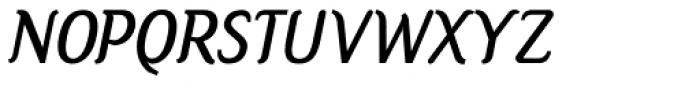 Jones Bold Italic Font UPPERCASE