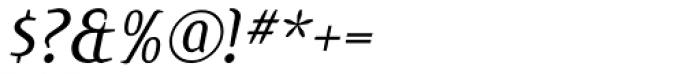 Jones Italic Font OTHER CHARS