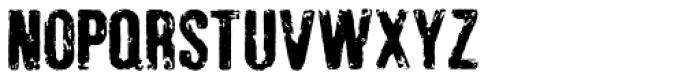 Jonzing Font UPPERCASE