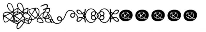 Josef K Patterns Kitschy Font UPPERCASE