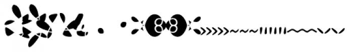 Josef K Patterns Kitschy Font LOWERCASE