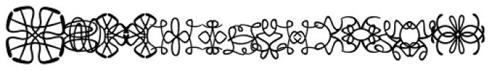 Josef K Patterns Stitchy Font UPPERCASE