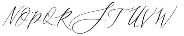 Jositary Regular Font UPPERCASE