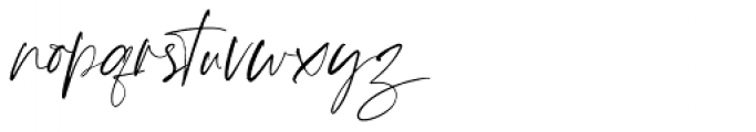 Joules et Jaques  Hand Upright Font LOWERCASE