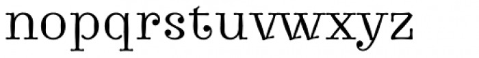 Journal 74 Font LOWERCASE