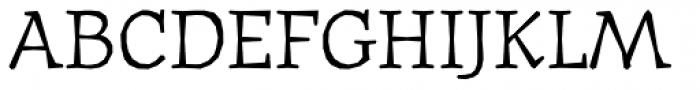 Journal Text Font UPPERCASE