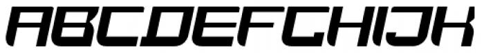 JoyRider Bold Italic Font UPPERCASE