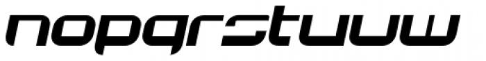 JoyRider Bold Italic Font LOWERCASE