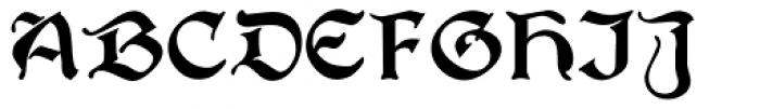 Joyeuse Font UPPERCASE
