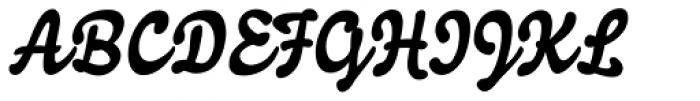 Joyscript Two Font UPPERCASE