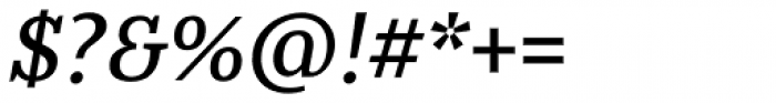 Jozef Medium Italic Font OTHER CHARS