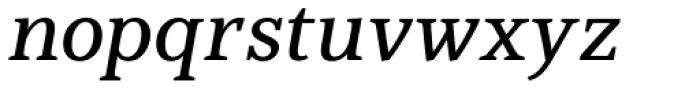 Jozef Medium Italic Font LOWERCASE
