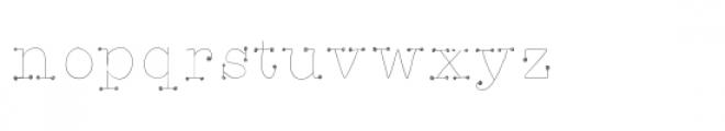 joey font Font LOWERCASE