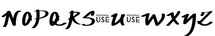 JP Urbaam DEMO Font UPPERCASE