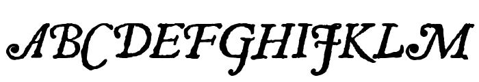 JSL Ancient Italic Font UPPERCASE