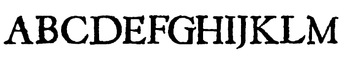 JSL Ancient Font UPPERCASE