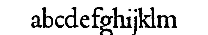 JSL Ancient Font LOWERCASE