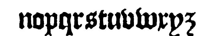 JSL Blackletter Font LOWERCASE