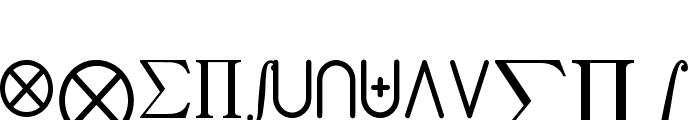 jsMath-cmex10 Font UPPERCASE