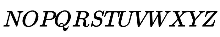 jsMath-cmmi10 Font UPPERCASE