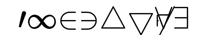 jsMath-cmsy10 Font OTHER CHARS