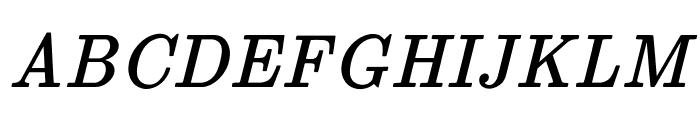 jsMath-cmti10 Font UPPERCASE
