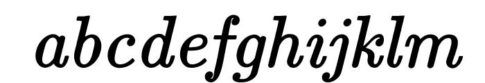 jsMath-cmti10 Font LOWERCASE