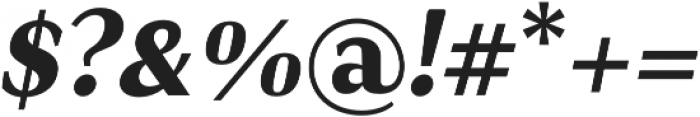 JT Douro-Sans Black Italic otf (900) Font OTHER CHARS