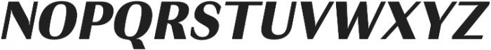 JT Douro-Sans Black Italic otf (900) Font UPPERCASE