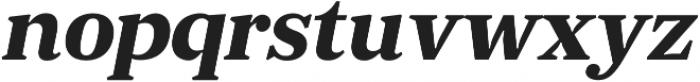JT Douro-Serif Bold Italic otf (700) Font LOWERCASE