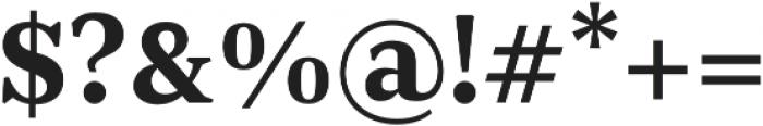 JT Douro-Serif Medium otf (500) Font OTHER CHARS