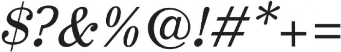 JT Symington otf (400) Font OTHER CHARS