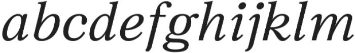 JT Symington otf (400) Font LOWERCASE