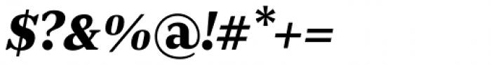 JT Douro Serif Black Italic Font OTHER CHARS
