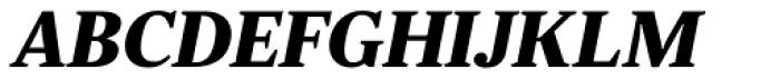 JT Douro Serif Black Italic Font UPPERCASE