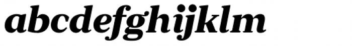 JT Douro Serif Black Italic Font LOWERCASE