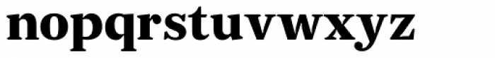 JT Douro Serif Black Font LOWERCASE