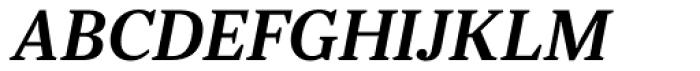 JT Douro Serif Light Italic Font UPPERCASE