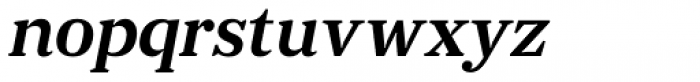 JT Douro Serif Light Italic Font LOWERCASE