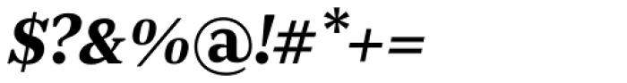 JT Douro Serif Medium Italic Font OTHER CHARS
