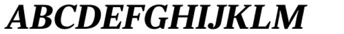 JT Douro Serif Medium Italic Font UPPERCASE