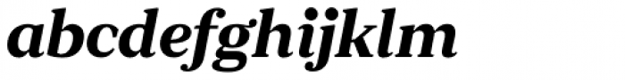 JT Douro Serif Medium Italic Font LOWERCASE